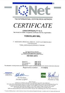 Certificazione UNI EN ISO 9001 Qualità