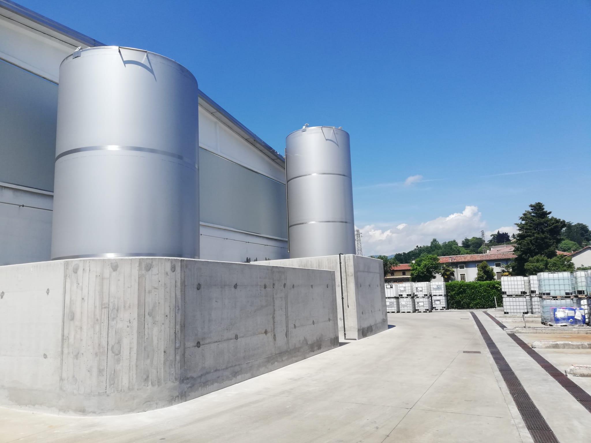 Toscolapi nuove cisterne a Arzignano